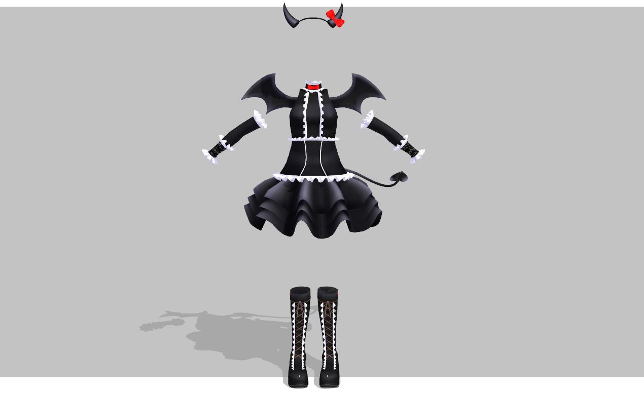 Hello Demon set by amiamy111