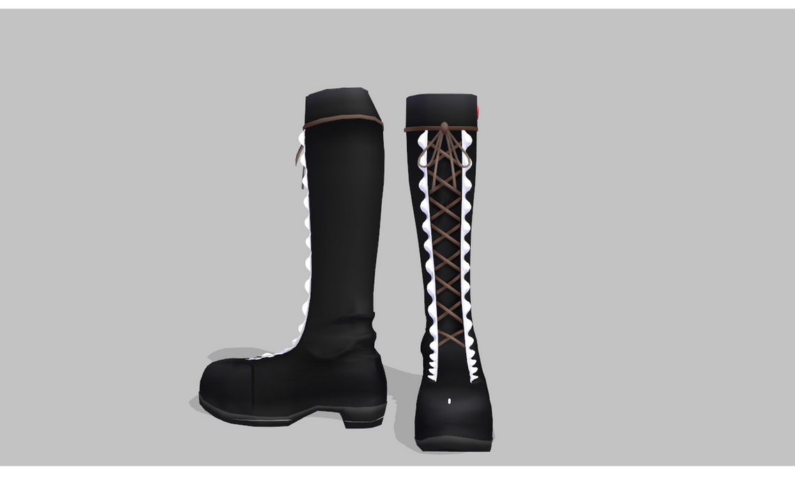ebf757300c43e3 MMD Frilly lolita boots by amiamy111 on DeviantArt