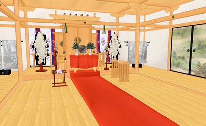 MMD Japan style room REMASTER