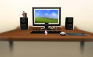MMD Desktop stage