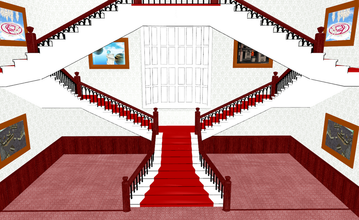 MMD Fancy Stairs By Amiamy111 ...