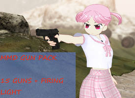 MMD Gun Pack -READ INFO- by amiamy111