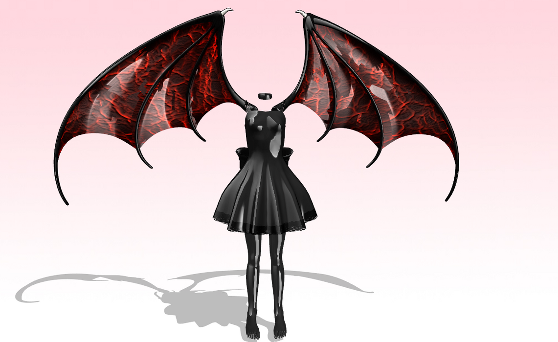 Cute latex demon set by amiamy111
