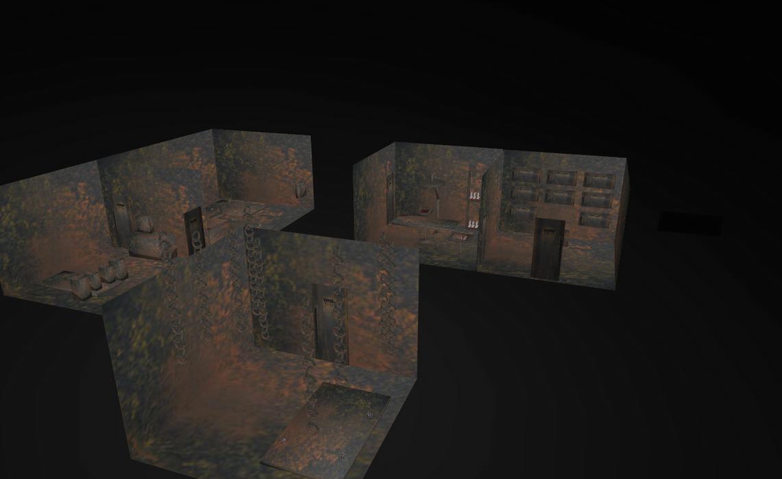 MMD Underground Torment lab by amiamy111