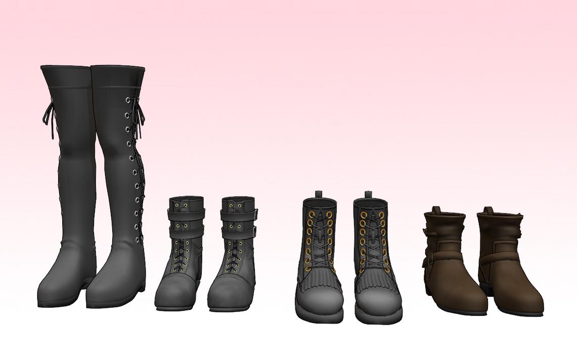 Mmd Shoes Black