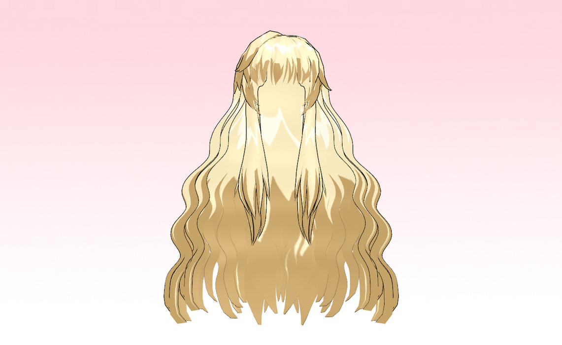 MMD SeeU like hair by amiamy111