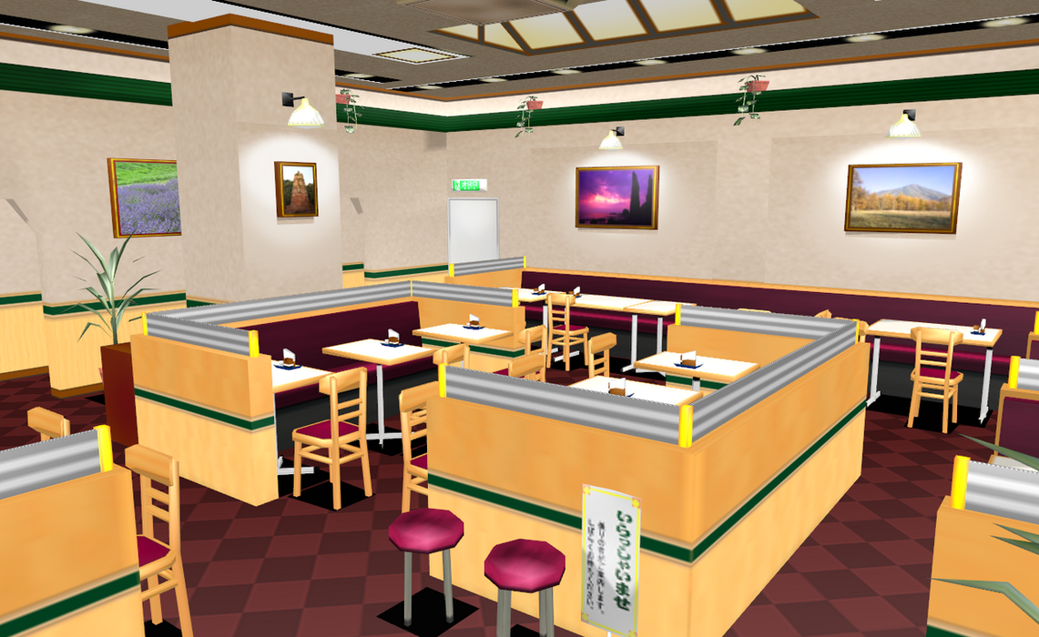 PL2 Stage Rip restaurant by amiamy111