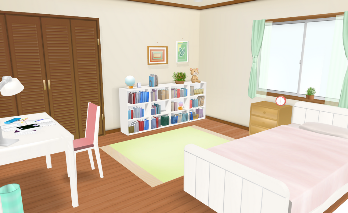 MMD CUTEST room BIG UPDATE by amiamy111