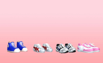 MMD Sneakers pack by amiamy111