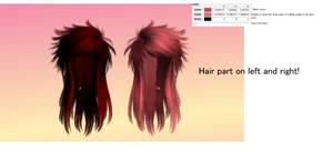 MMD SCENE QUEEN Hair