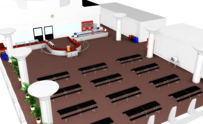 Eating Lunch -MMD Stage-