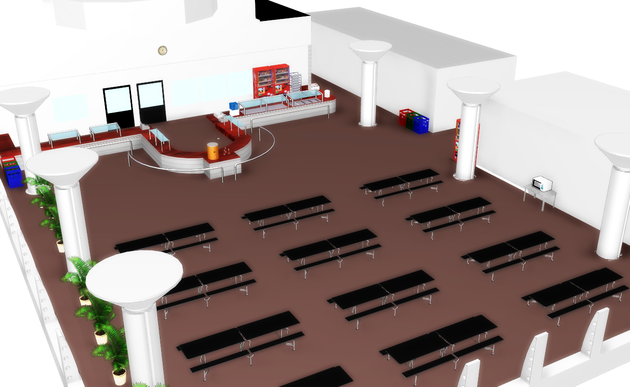 Google Sketchup Floor Plan Eating Lunch Mmd Stage By Amiamy111 On Deviantart