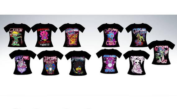 MMD Cupcake cult shirts