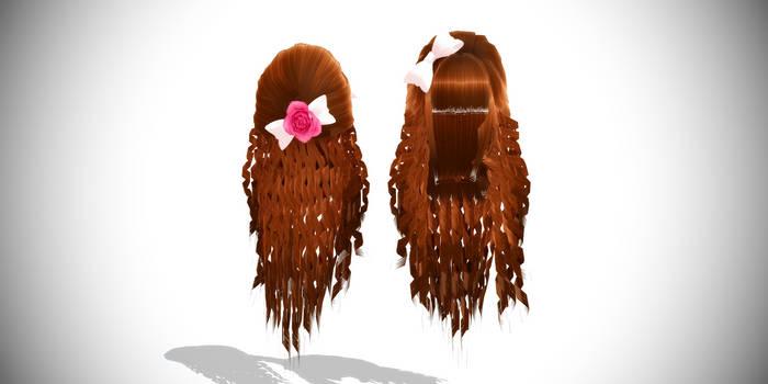 Curly Hair On Mikumiku Salon Deviantart