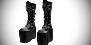 [MMD] Dani Boots Gothic Platform Boots Demonia sty by amiamy111