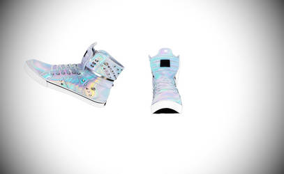MMD Holographic high tops