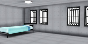 MMD Stage Insanity padded room stage