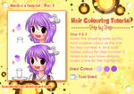 Simple Anime Hair Colouring Tutorial