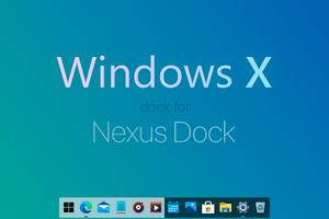 Windows X Dock for Nexus Dock