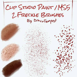 Freckle Brushes for Clip Studio Paint