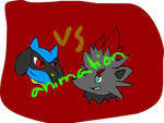 Riolu vs Zorua animation