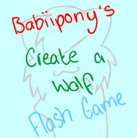 Create A Wolf Flash Game by Babiipony