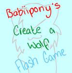 Create A Wolf Flash Game