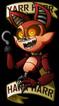 Nightmare Foxy Wallpaper by Grimmstein