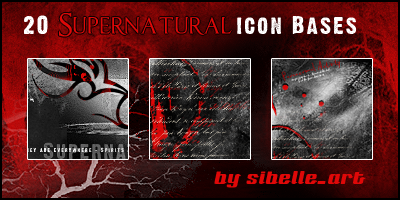 Icon Bases Supernatural by Sibelle
