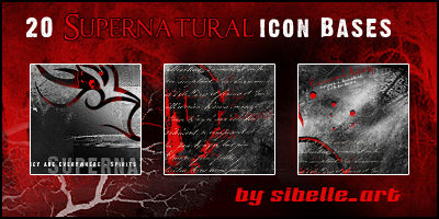 Icon Bases Supernatural