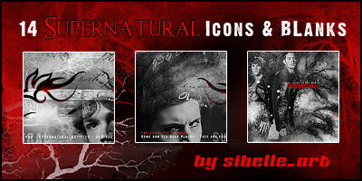 Supernatural icons and blanks