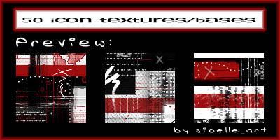 50 icon-textures, icon-bases