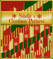 21 seamless X-mas patterns