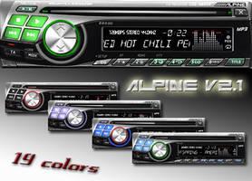 alpine 9243R by SisTeck