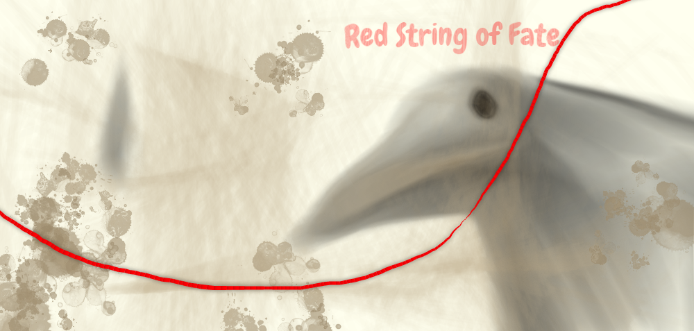 Red String Of Fate By Dreamerpuppet On Deviantart