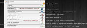 Rainmeter updater 0.1.4 - Go on the web page
