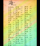 Chinese Characters V