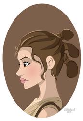 Rey by lilrebelart