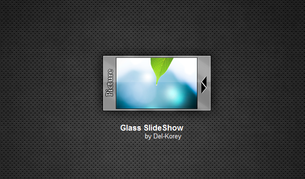 Glass SlideShow by Del-Korey