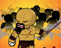 Barbaros Game Character - Attack Animation by Moonstar2D