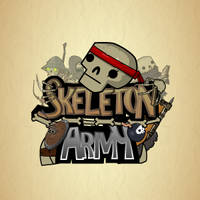 Skeleton Army - Giant Hand Gif Animation by Moonstar2D
