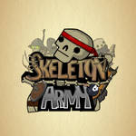 Skeleton Army - Giant Hand Gif Animation