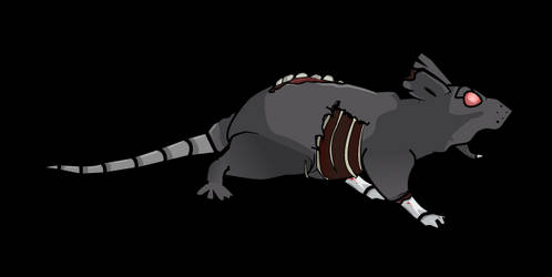 Rat Run Gif - Freddy's Nightmare by Moonstar2D