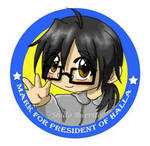 Mark For President of Halla