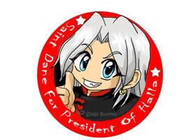 Saint Dane for President by shido-burrito
