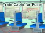 Freebie: Train Cabin For Poser