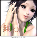 Freebie: Copper Bracelets For Aiko 3