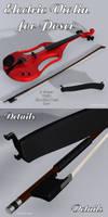 Freebie: Electric Violin For Poser