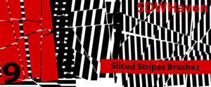 Sliced Strips Brushes