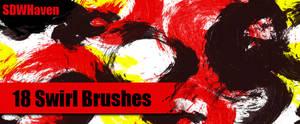 Photoshop Swirl Brushes